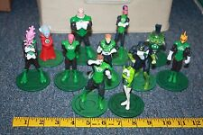 DC Green Lantern Corps standing PVC figures used free shipping super heroes