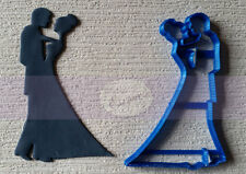 Wedding dancing couple cookie fondant cutter UK seller