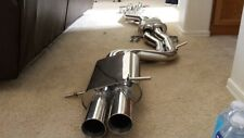 "AUDI 00-02 B5 S4 2.7t ""TWIN 2"" True 2.5"" Dual CATBACK Exhaust t304ss"