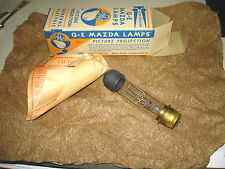 Old 1943 GE G-E MAZDA LAMPS Clear Picture Projection 300W-120V T-10 NOS NR