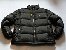 POLO RALPH LAUREN MEN'S POLO BLACK QUILTED DOWN JACKET SIZE L