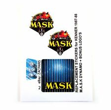 MASK stickers for KENNER M.A.S.K DYNAMO Personalized + BONUS