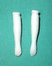 """antique arms 1.16"""" glazed porcelain for dollhouse doll, to tie in"""