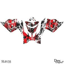 *NEW* SLED GRAPHICS DECAL STICKER WRAP FOR POLARIS IQ RACER 2005-2014 SL0135