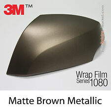 10x20cm FILM Matte Brown Metallic 3M 1080 M209 Vinyle COVERING Series Wrapping