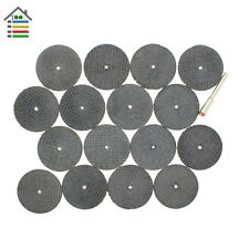 "25pc Fiberglass Reinforced Cut Off Wheel Disc w/ 2 Mandrel 1/8"" Fit Dremel Tool"