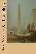 Anthropology by Robert Marett (2014, Paperback)