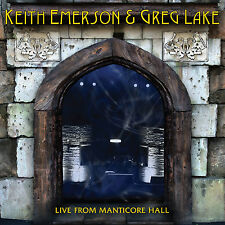 KEITH EMERSON & GREG LAKE of ELP New Sealed 2017 UNRELEASED CONCERT CD
