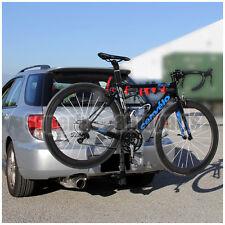 """1 Set 4 Bike Fit 1.25""""-2"""" Heavy Duty Steel Black Powder Rear Bike Carry Rack"""