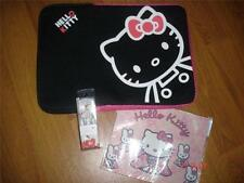 HELLO Kitty Laptop Bundle. Neoprene Sleeve / Case, Auricolari & MOUSEMAT.