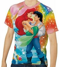 The Little Mermaid Men's T-Shirt Tee S M L XL 2XL 3XL