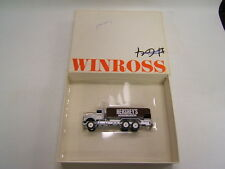 Winross Hershey's Chocolate Lowfat Milk Delivery Kenworth Tank Wagon 1993 VGC