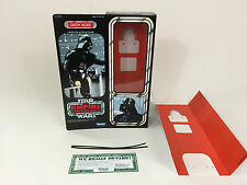 "Custom VINTAGE STAR WARS L'IMPERO COLPISCE ANCORA 12"" Darth Vader BOX + inserti"