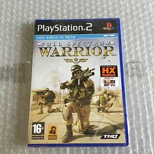 Vintage# PS2 PLAYSTATION 2. FULL SPECTRUM WARRIOR  # PAL SEALED SIGILLATO