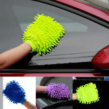 Microfiber Car Care Washing Mitten Cleaning Glove Clean Cloth Towel Household