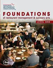 Foundations of Restaurant Management and Culinary Arts : Level 1 by National...