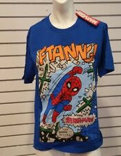 Marvel Spider-Man FTANNG! Graphic T-Shirt New X-Small Hong Kong Disney Land