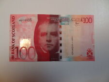 Bank of Scotland £100 banknote, Excellent condition SCARCE