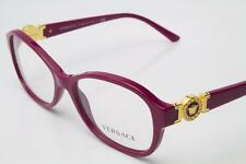 New Versace VE 3185 Eyeglasses Frames Fuxia 5067 Authentic 52mm