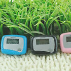Hiking Walking Jogging LCD Pedometer Calorie Counter Watches Running Distance