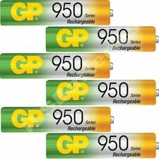6 x AAA Rechargeable Cordless phone 950mAh batteries Philips SBC SHC8525 NiMh