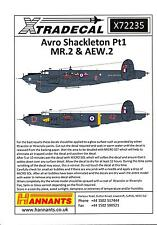 Xtra Decals 1/72 AVRO SHACKLETON MR.2 & AEW.2 Part 1