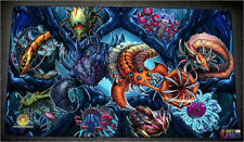FREE SHIPPING Yugioh Playmat Paleozoic Play Mat Paleozoic Playmat Frogs