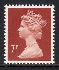 GB 1985 sg X937 7p Brownish Red photogravure phosphorised paper MNH