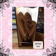 Linking Hearts Folded Book Art Folding PATTERN ONLY #1028