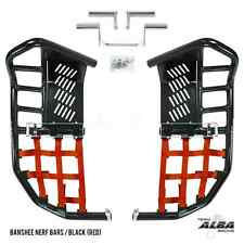 Yamaha Banshee YFZ 350  Nerf Bars  Pro Peg  Alba Racing    Black/Red 207-T7-BR