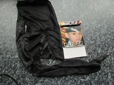 Junior boys durag hair bandana tie down black sport skull cap polyester fabric
