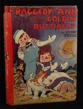 Johnny Gruelle Raggedy Ann Golden Butterfly [1940] Dust Jacket VG