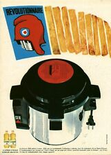 """Publicité Ancienne """" Cuisine Friteuse SEB 1968 (  P. 31 )"""