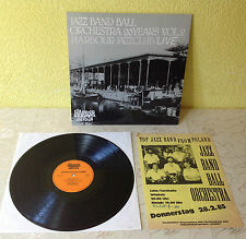 "JAZZ BAND BALL ORCHSTRA (LP)""20 YEARS VOL.2 HARBOUR JAZZCLUB LIVE"" [+AUTOGRAMME]"