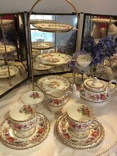 Royal Grafton Malvern tea for two tea set