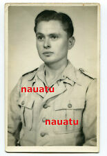 Foto Portrait Luftwaffe Tropen Uniform Afrika Südfront DAK Italien