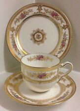 Beautiful Wedgewood English Bone China Tea Set Trio.