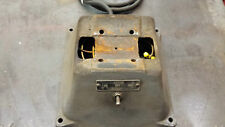 Baldor 500 Grinder Parts - Cast Iron Base, Cover, Capacitor and cord   522