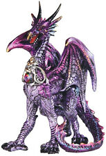 TERROR   Purple Dragon  Statue figurine  H5.88""