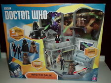 DOCTOR WHO TIME ZONE INTO THE DALEK PLAYSET AND 5 FIGURE COLLECTION ... SEALED