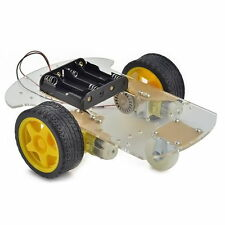 2WD Smart Robot Car Chassis Kit/Speed For Arduino 2 encoder Battery 1:48 G1CG