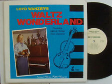 LOYD WANZER Waltz Wonderland VG++ LP south-paw style fiddling