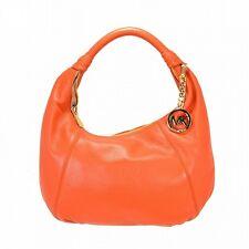 ^Brand New Michael Kors Leather Item Hobo Burnt Orange Bag Lot 1733184