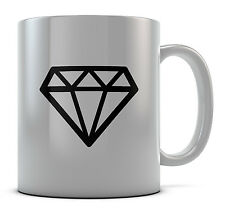 Cool Hipster Diamond Mug Cup Present Gift Coffee Birthday