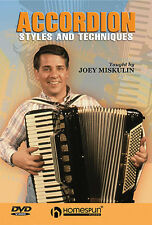 Learn To Play The Piano Accordion Styles Techniques DVD