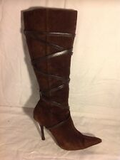 Aldo Brown Knee High Suede Boots Size 37