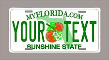 """Florida custom novelty license plate-your name or text 6""""x12""""-FREE SHIPPING"""