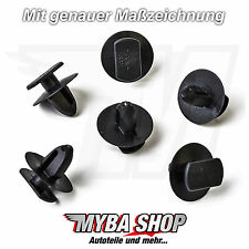 5x Clips für Türverkleidung für Seat Ibiza, Skoda Octavia, VW Golf 3B0837732