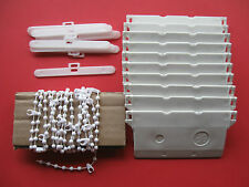 """3.5"""" (89 mm)VERTICAL BLIND 10 WEIGHTS HANGERS & CHAINS BLINDS SPARES PARTS"""