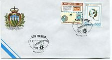 1990-06-02 San Marino belgica 90 Bruxelles ANNULLO SPECIALE Cover